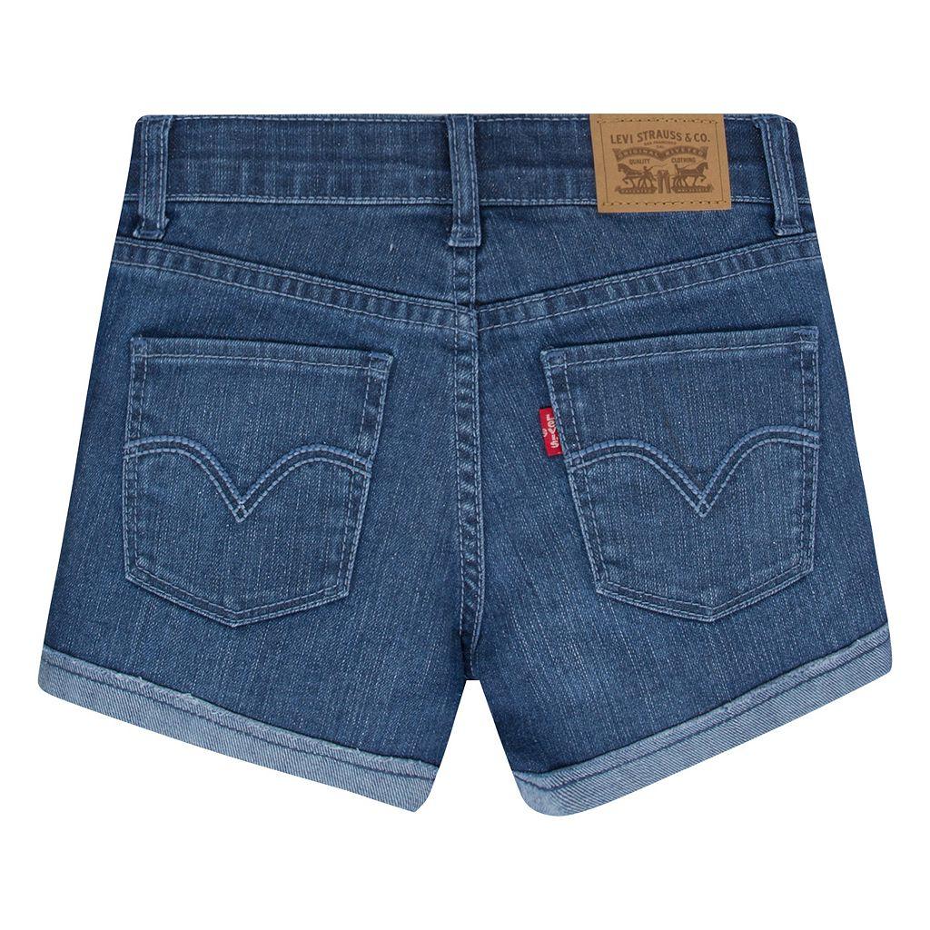 Toddler Girl Levi's Scarlett Rolled Cuffs Shorty Shorts