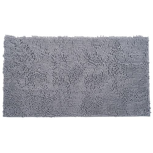 Portsmouth Home High Pile Chenille Solid Shag Rug