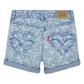 Toddler Girl Levi's Summer Love Shorty Shorts