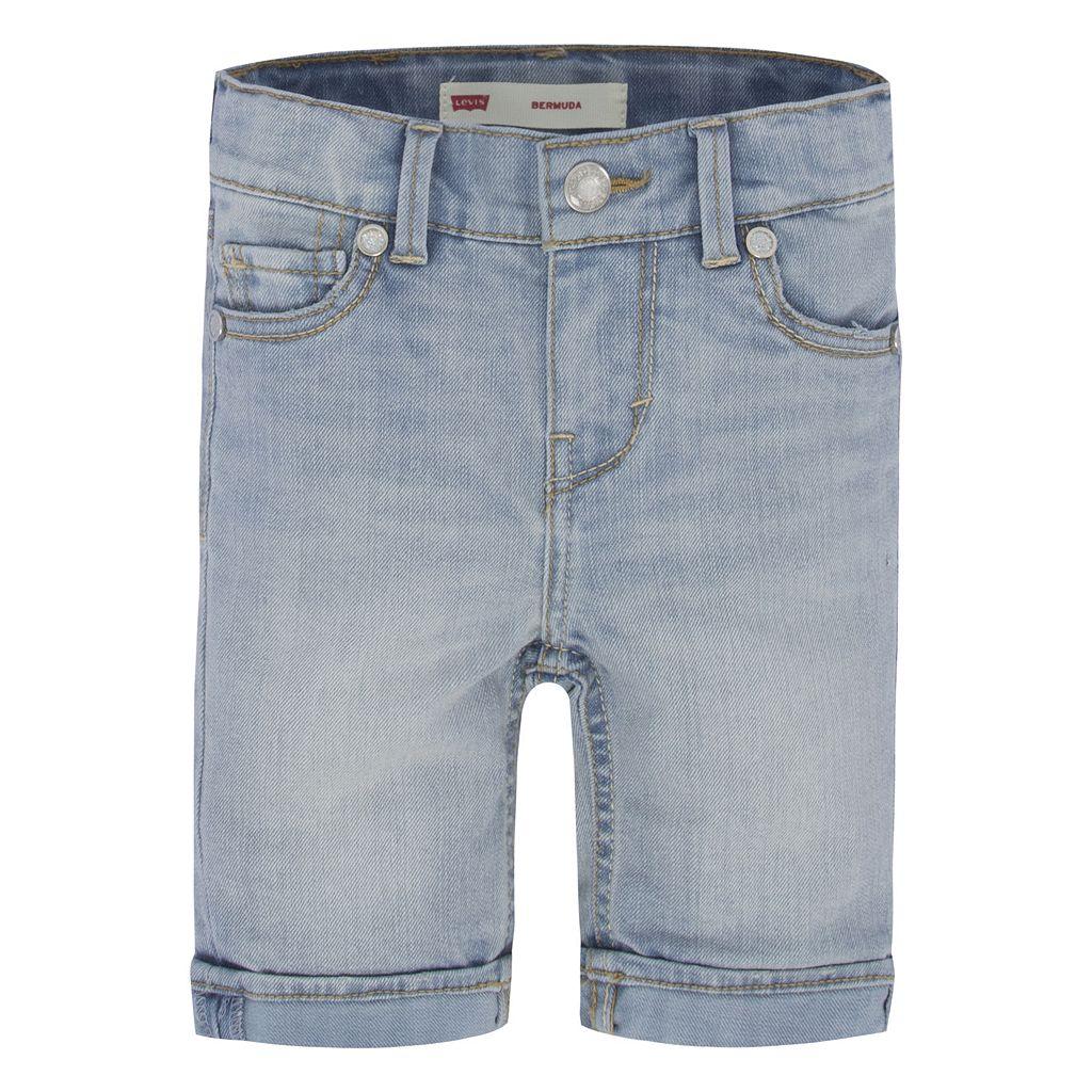 Girls 4-6x Levi's Denim Sweetie Bermuda Shorts