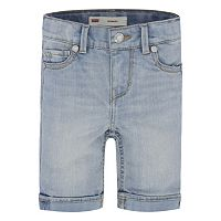 Girls 4-6x Levi's Denim Sweetie Bermuda Shorts