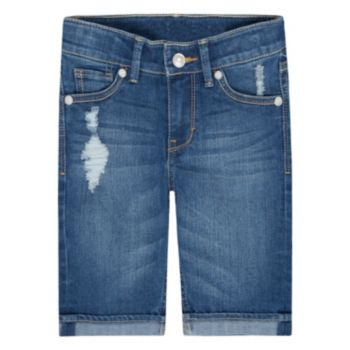 Girls 4-6x Levi's Distressed Sweetie Bermuda Shorts