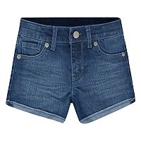 Girls 4-6x Levi's Scarlett Rolled Cuffs Shorty Shorts