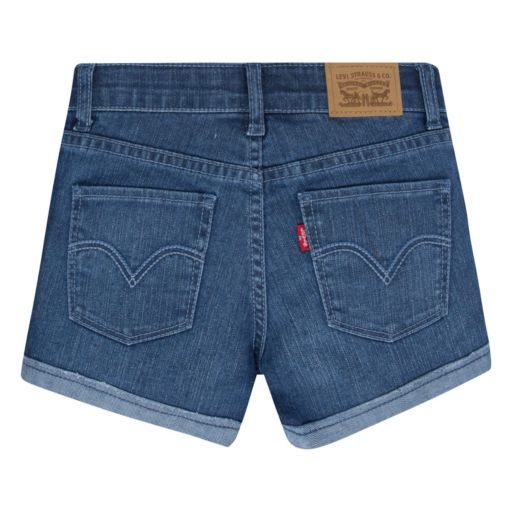 Girls 4-6x Levi's Scarlett Rolled Cuffs Shorty Shorts