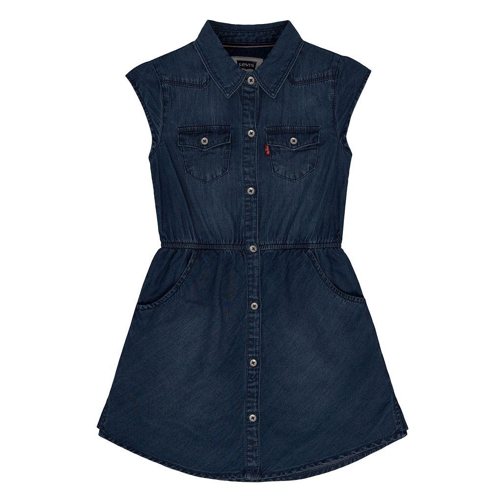 Girls 4-6x Levi's Denim Dress