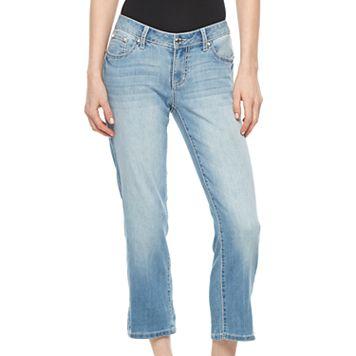 Women's Apt. 9® Embellished Capri Jeans