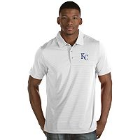 Men's Antigua Kansas City Royals Quest Polo