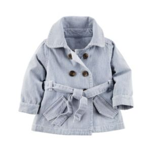 Baby Girl Carter's Hickory Stripe Jacket!