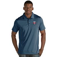 Men's Antigua Minnesota Twins Quest Polo
