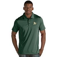 Men's Antigua Oakland Athletics Quest Polo