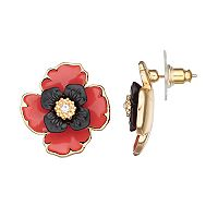 Dana Buchman Poppy Drop Earrings