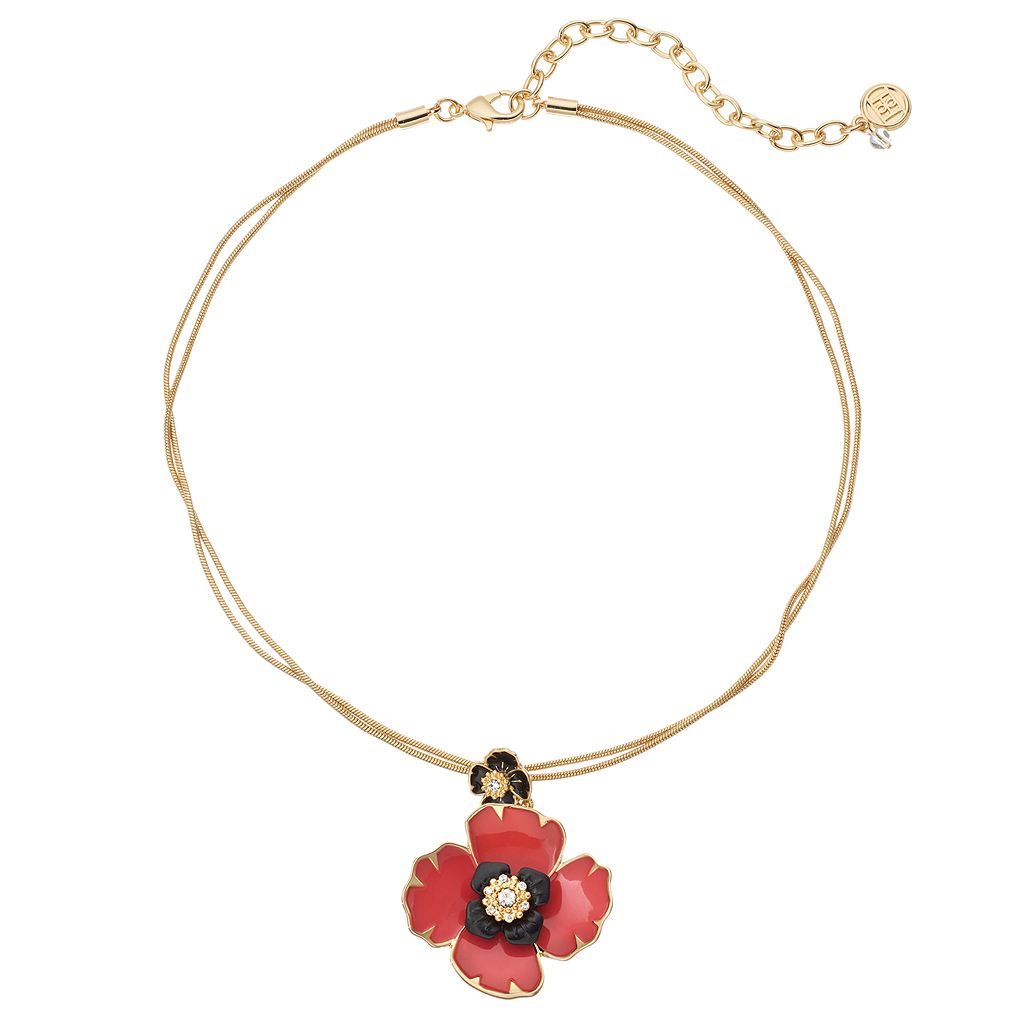 Dana Buchman Poppy Pendant Necklace