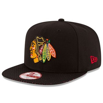 Adult New Era Chicago Blackhawks 9FIFTY Shine Through Adjustable Cap