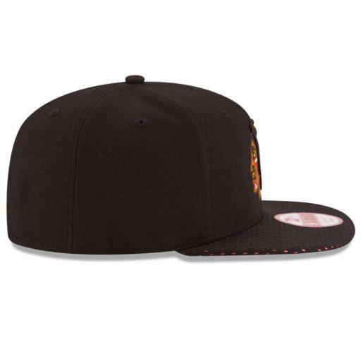 Adult New Era Chicago Blackhawks 9FIFTY Shine Through Adjustable Cap