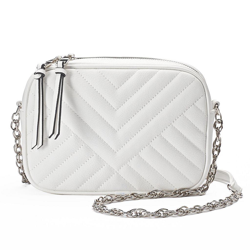 madden NYC Lane Quilted Crossbody Bag