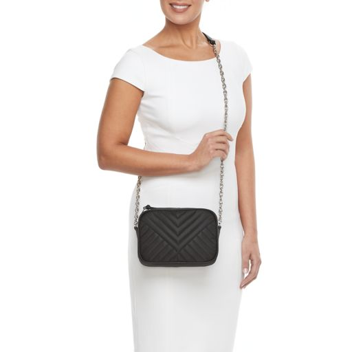 madden NYC Monica Quilted Crossbody Bag