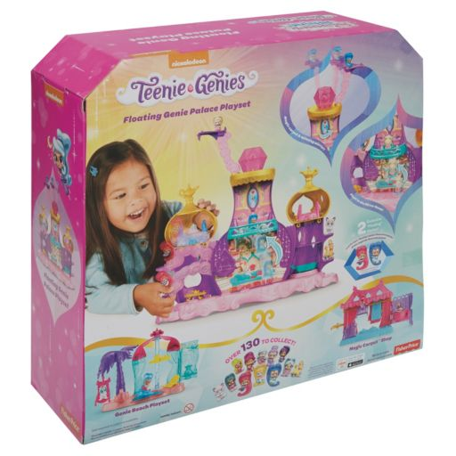 Fisher-Price Shimmer & Shine Teenie Genies Floating Genie Palace Playset