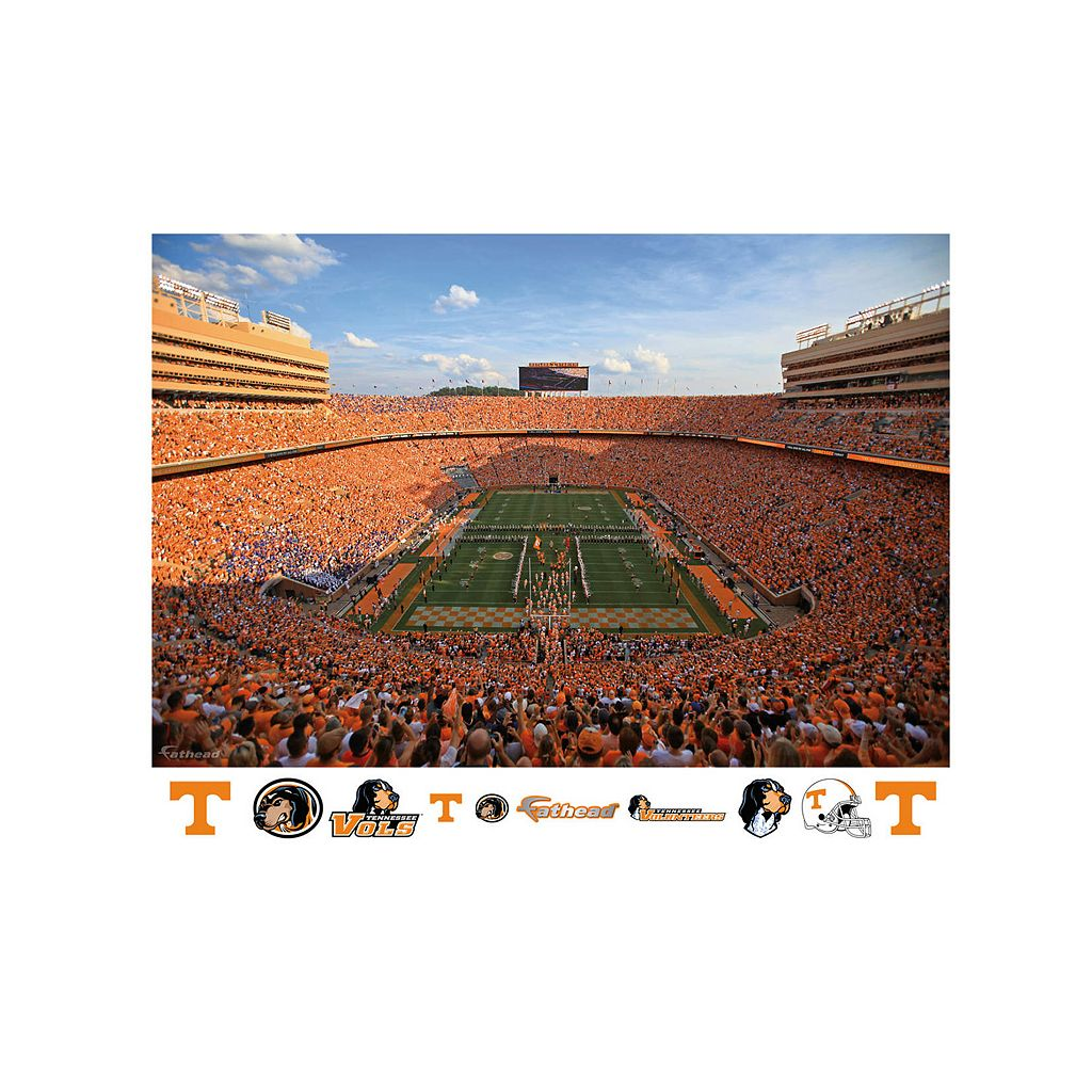 Tennessee Volunteers Neyland Stadium Wall Decal by Fathead