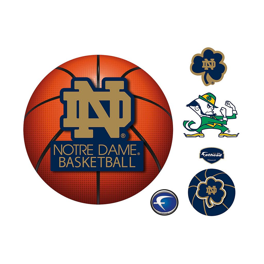 Notre Dame Fighting Irish Basketball Logo Wall Decal by Fathead