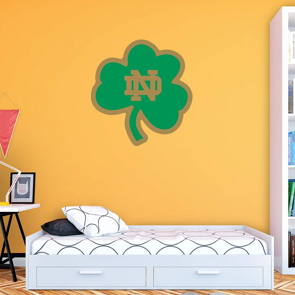 Notre Dame Fighting Irish Green Logo Wall Decal by Fathead