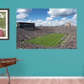 Notre Dame Fighting Irish Stadium Mural Wall Decal by Fathead null