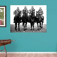 Notre Dame Fighting Irish Four Horseman Mural Wall Decal by Fathead