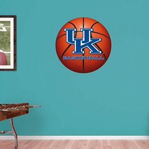 Kentucky Wildcats Basketball Logo Wall Decal by Fathead
