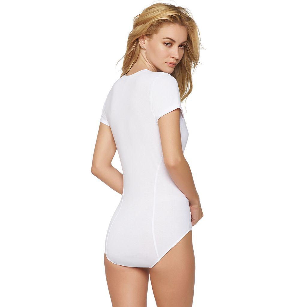 Jezebel Cotton Modal Cap Sleeve Bodysuit 900191
