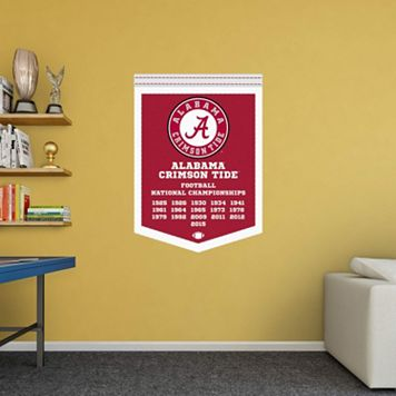 Alabama Crimson Tide National Champs Banner Wall Decal by Fathead