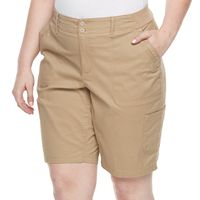 Plus Size Gloria Vanderbilt Marion Bermuda Shorts