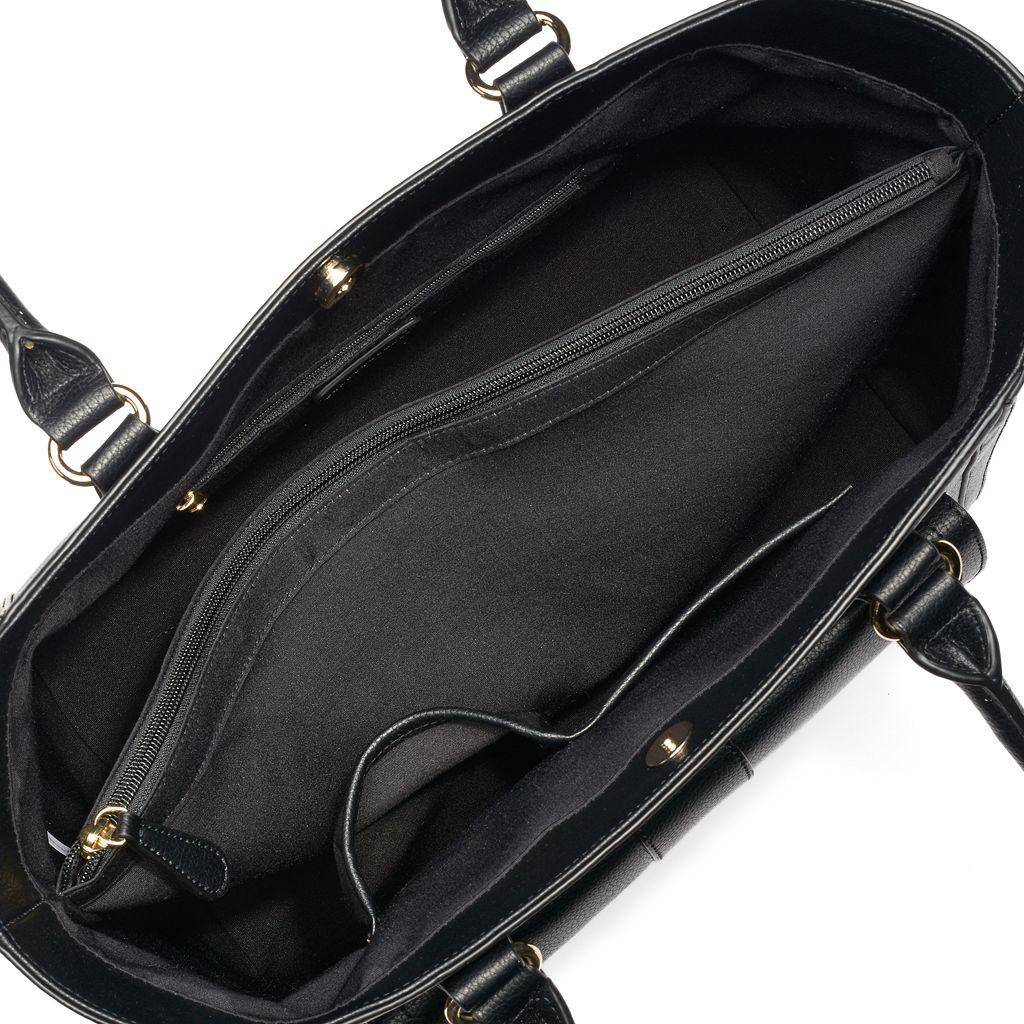 Apt. 9® Olivia Double Zip Tote