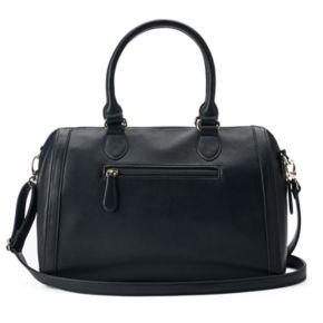 Apt. 9® Olivia Double Zip Barrel Bag