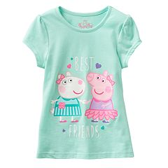 Girls 4-6 Peppa Pig 'Best Friends' Graphic Tee