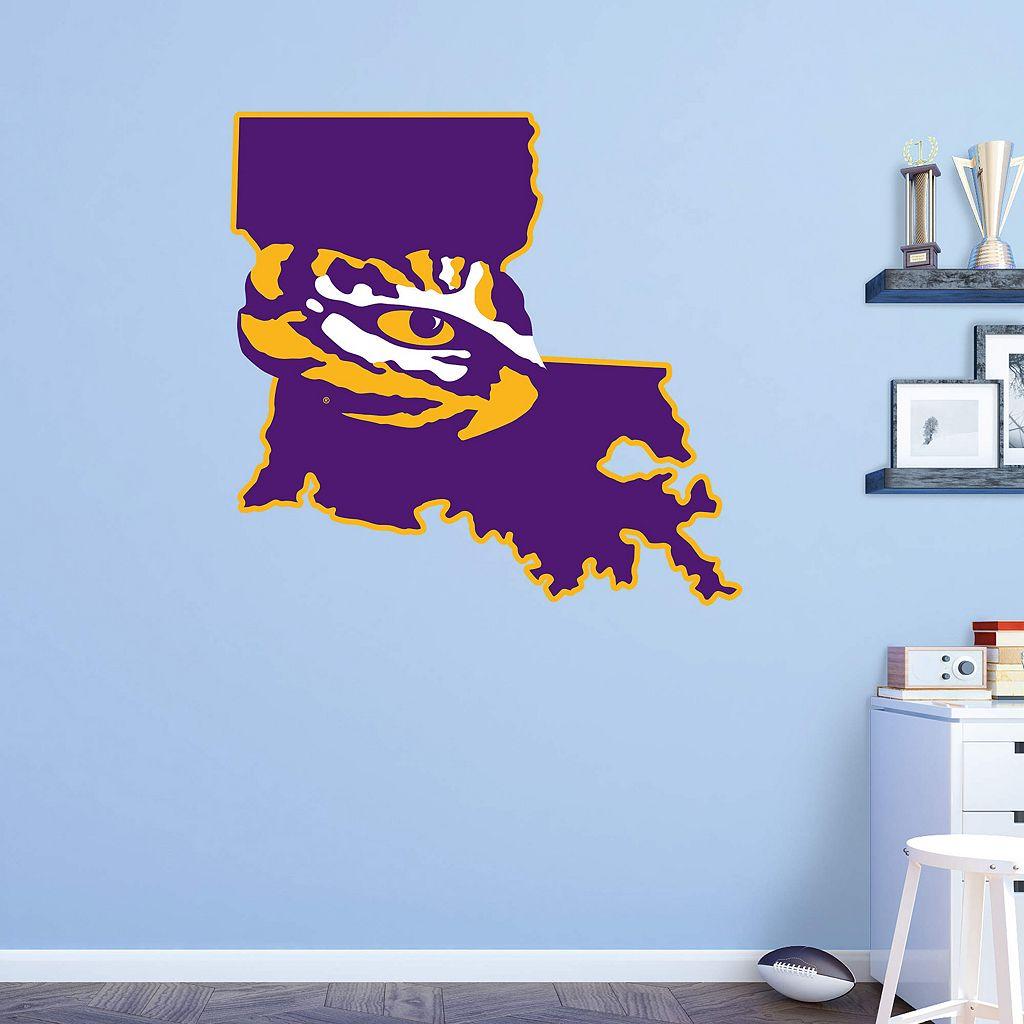 LSU Tigers Logo Wall Decal by Fathead
