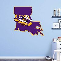 LSU Tigers Logo Wall Decal by Fathead