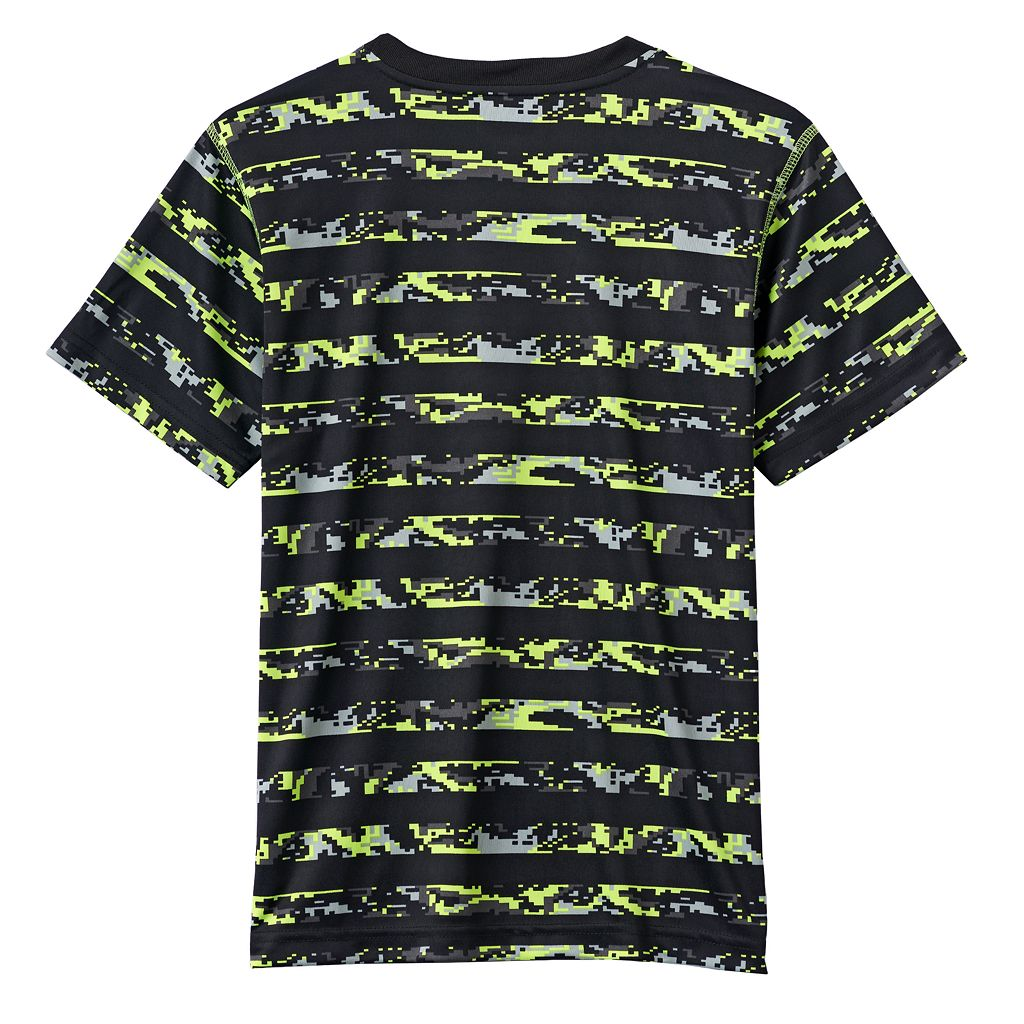 Boys 8-20 RBX Striped-Sleeve Tee