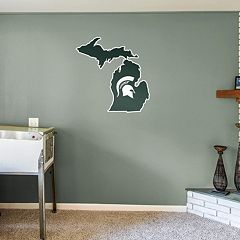 Michigan State Spartans Logo Wall Decal by Fathead