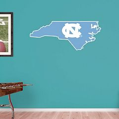 North Carolina Tar Heels Logo Wall Decal by Fathead