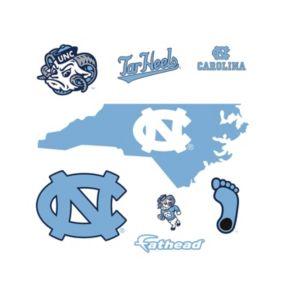 North Carolina Tar Heels Logo Wall Decal by Fathead