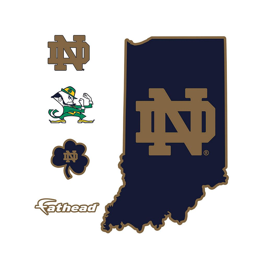 Notre Dame Fighting Irish Logo Wall Decal by Fathead
