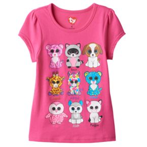 Girls 4-6x TY Beanie Boos Graphic Tee