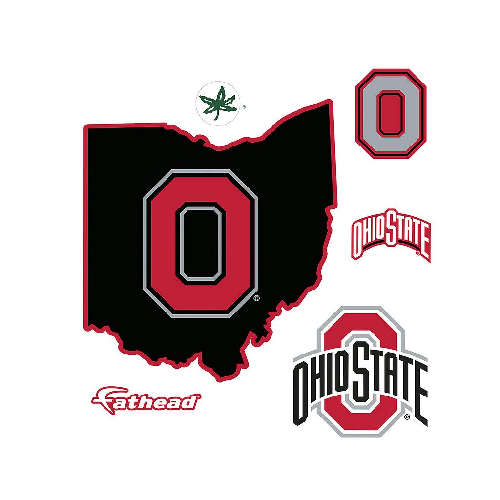 Ohio State Buckeyes Logo Wall Decal by Fathead