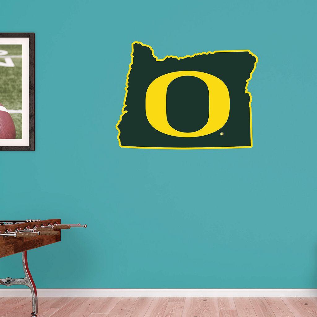 Oregon Ducks Logo Wall Decal by Fathead