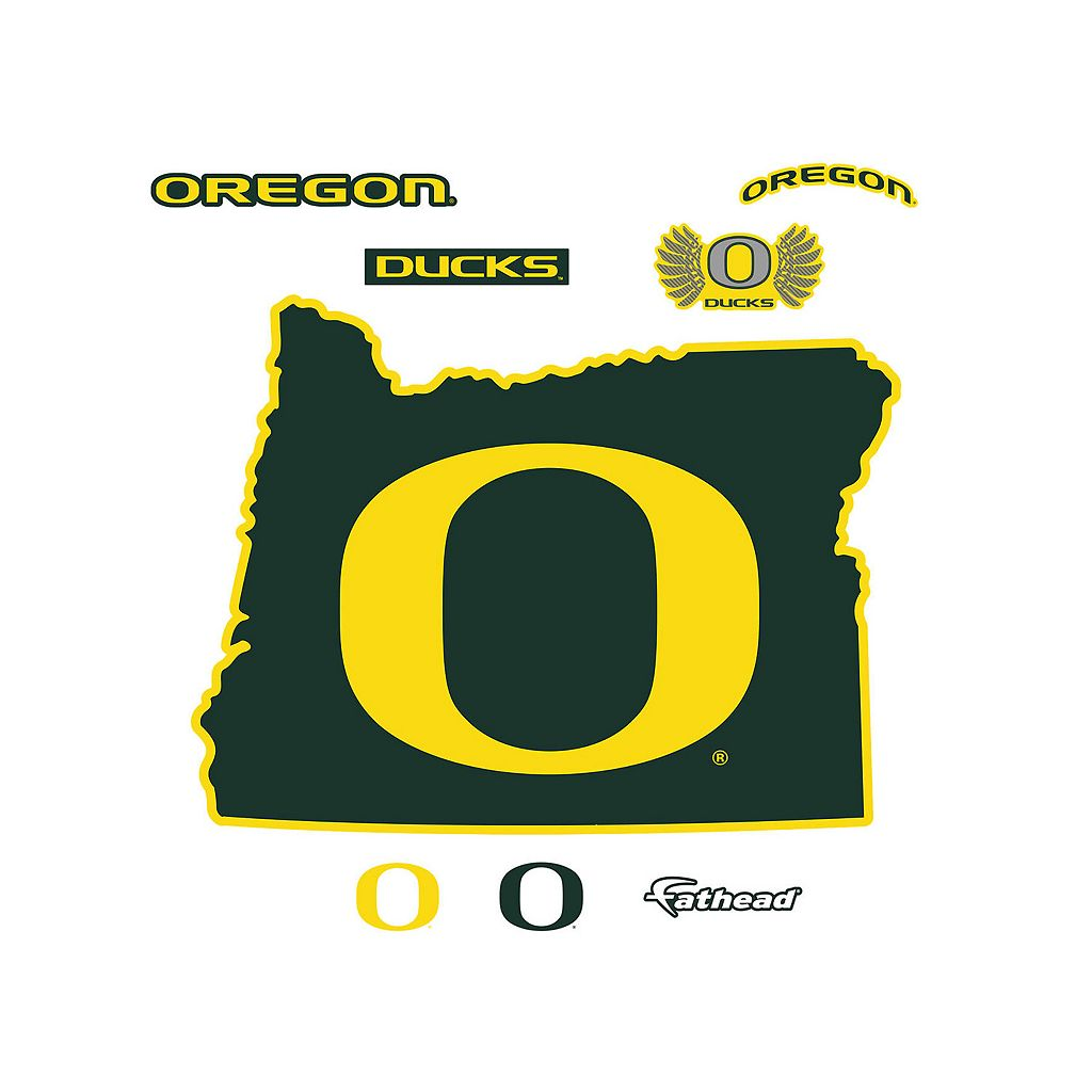 Oregon Ducks Logo Wall Decal by Fathead