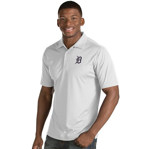 Men's Antigua Detroit Tigers Inspire Polo
