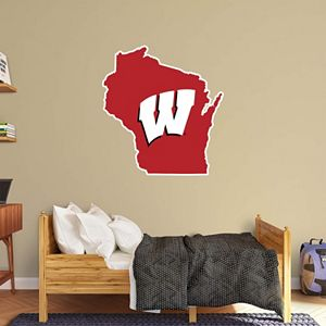 Wisconsin Badgers Logo Wall Decal by Fathead