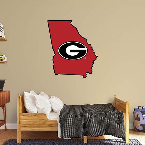 Georgia Bulldogs Logo Wall Decal by Fathead