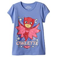 Girls 4-7 PJ Masks Owlette Graphic Tee