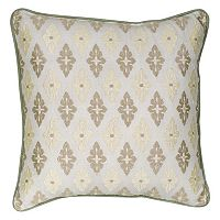 Always Home Auburn Embroidered Medallion Throw Pillow