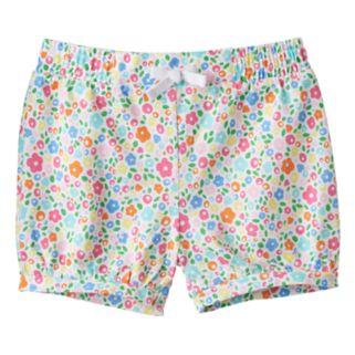Baby Girl Jumping Beans® Print Bubble Shorts